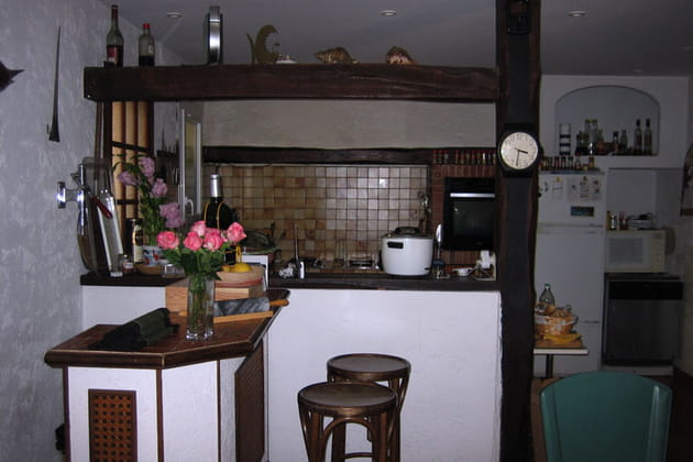 La cuisine d'Alice avant