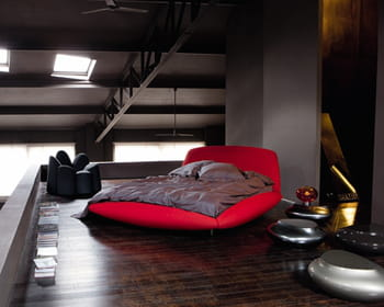 lit calisson de maurice barilone chez roche bobois. Black Bedroom Furniture Sets. Home Design Ideas