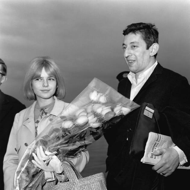 France Gall et Serge Gainsbourg en 1968