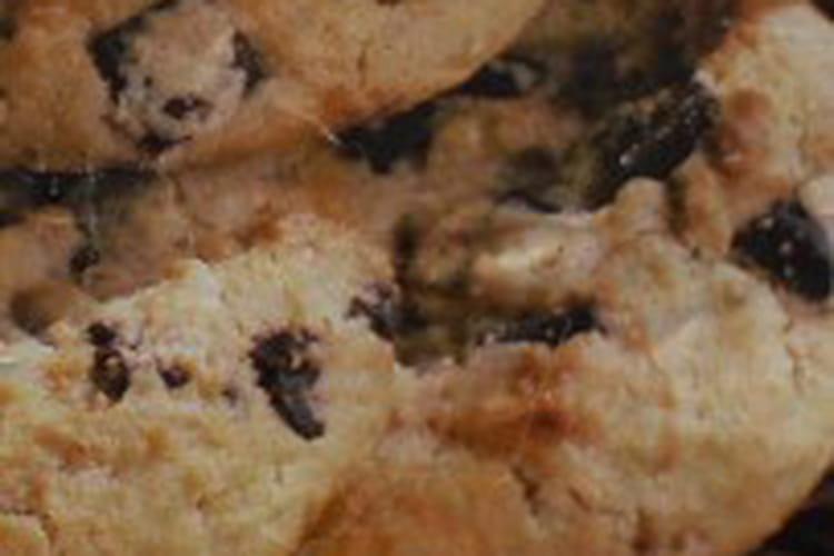 Cookies sucrés aux pépites de chocolat