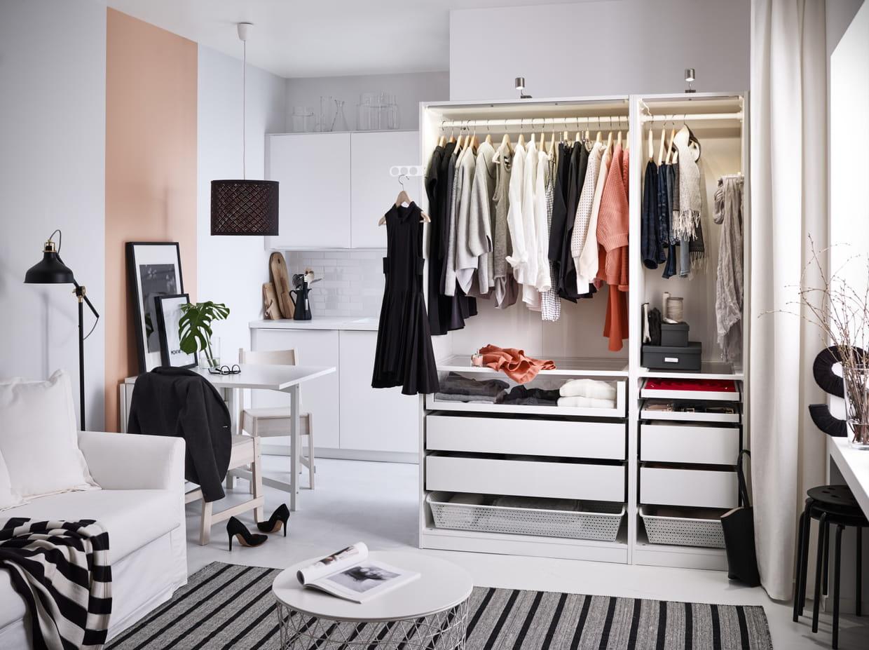 le dressing pax mod le phare de ikea. Black Bedroom Furniture Sets. Home Design Ideas