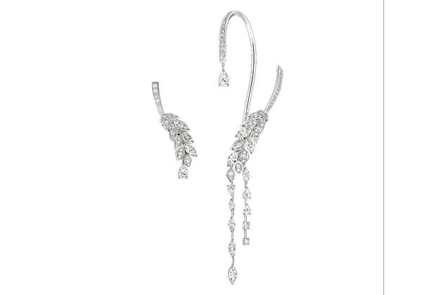 """Boucles d'oreilles """"Brins de Diamants"""" de Chanel Joaillerie"""