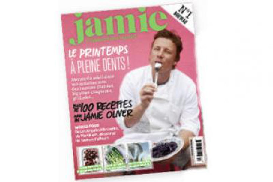 Jamie Oliver : son magazine disponible en France depuis mai 2013