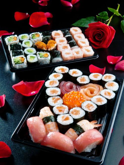 plateaux romantiques de sushi daily - Plateau Romantique