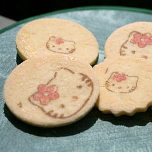 sablés à la vanille hello kitty