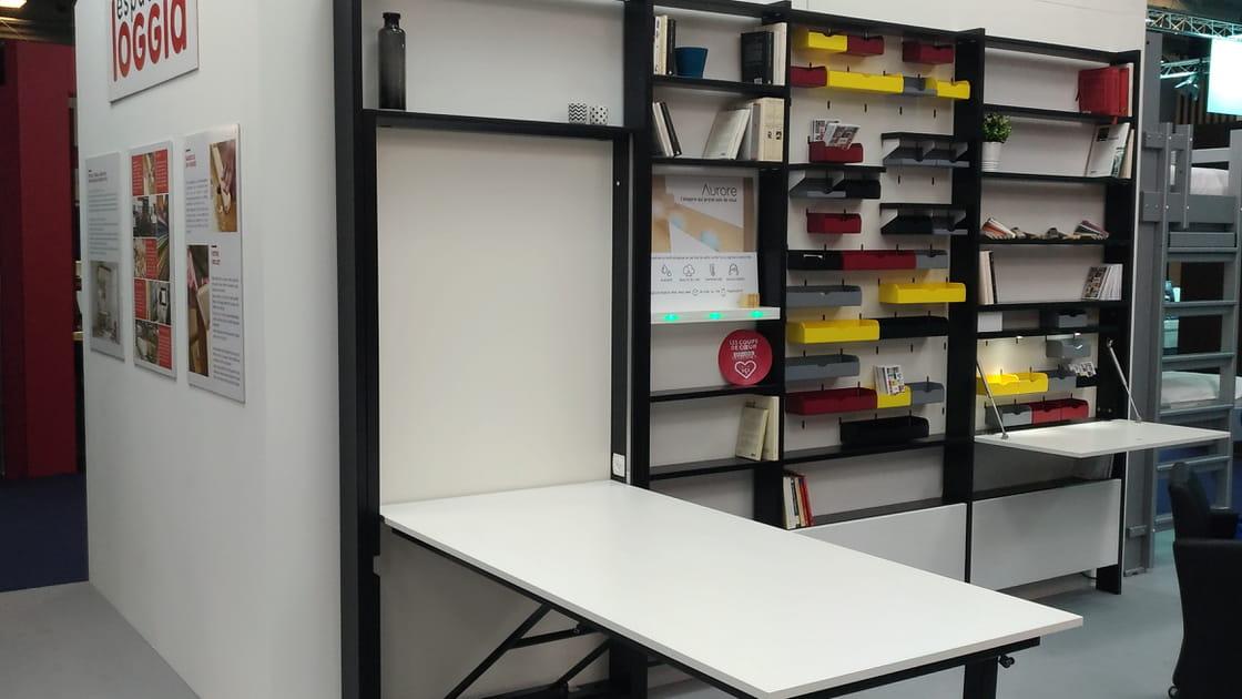 Le module rangement/table d'Espace loggia