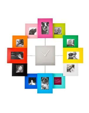 l'horloge de present time