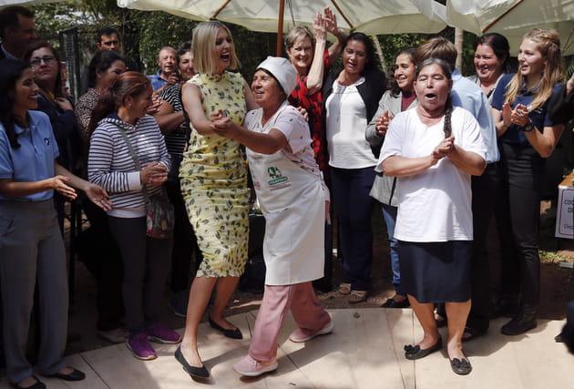 Ivanka Trump mène la danse
