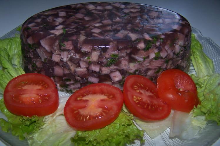 Terrine de porc à l'échalote