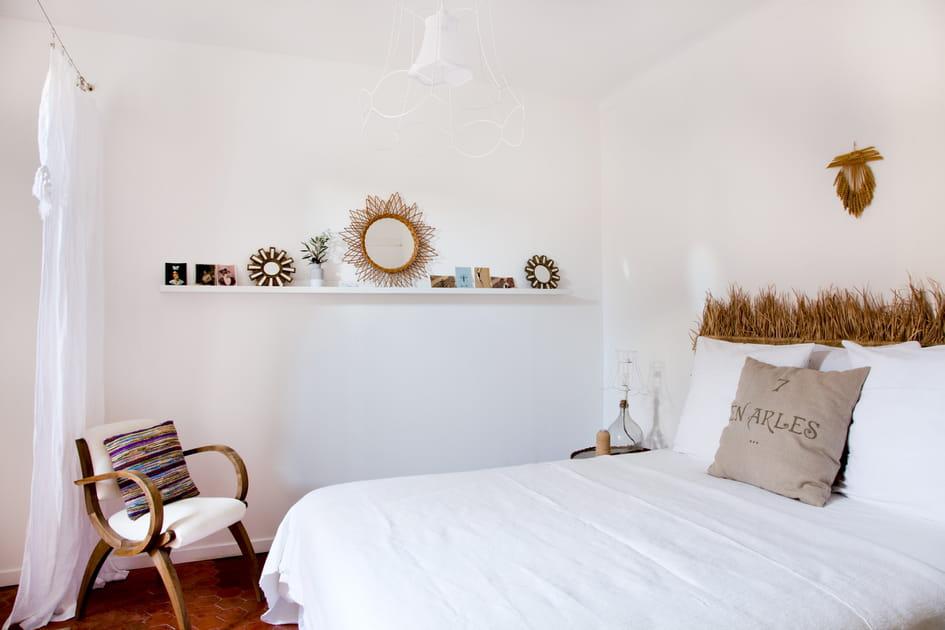 Une chambre au charme champêtre