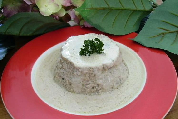 Gâteau de champignons ail-persil