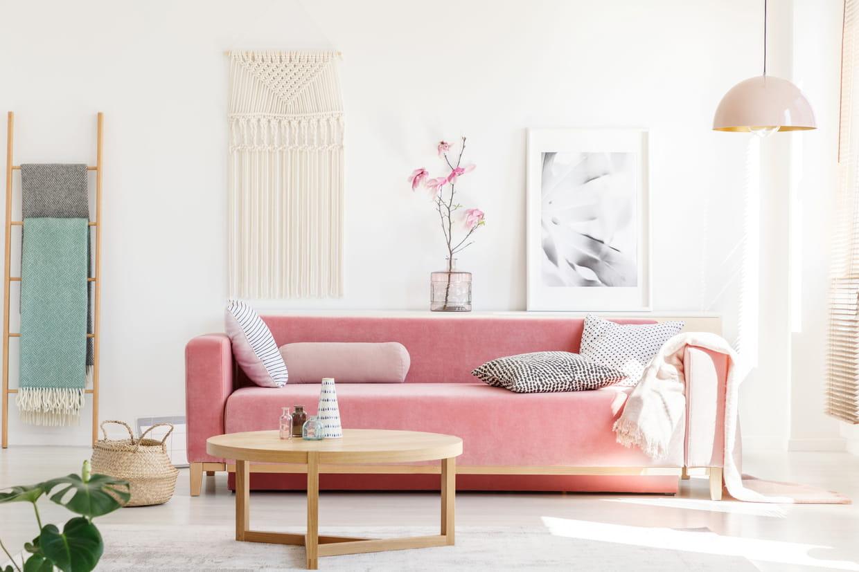 Duo De Couleurs Déco la couleur rose en déco : nuances et associations de couleurs