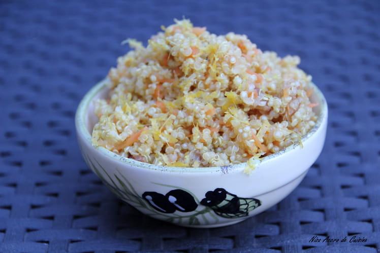 Quinoa aux agrumes