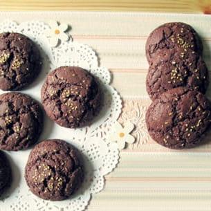 cookies chocolat et épices