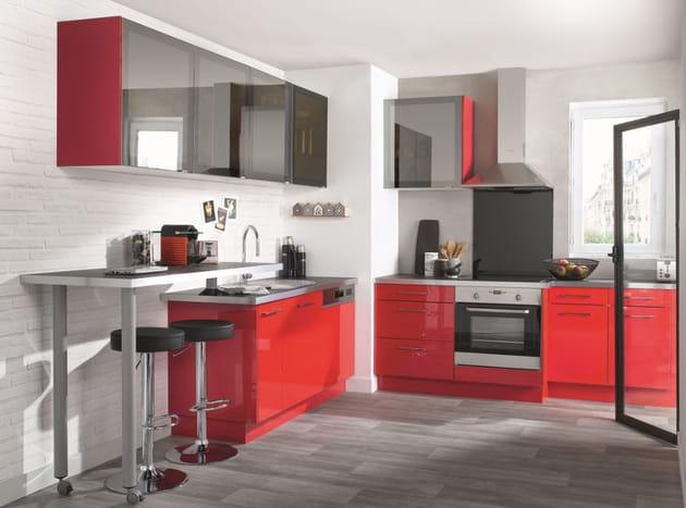 cuisine las vegas de conforama. Black Bedroom Furniture Sets. Home Design Ideas