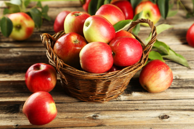 100kcal = 2petites pommes