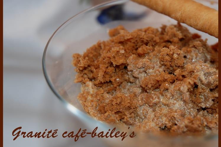Granité café-Baileys