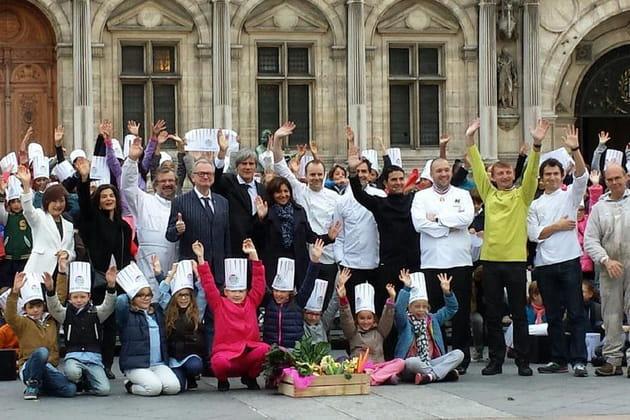 Semaine du Goût : parterre de chefs à l'Hôtel de Ville