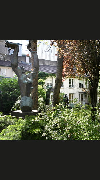 Chez Ossip Zadkine à Paris