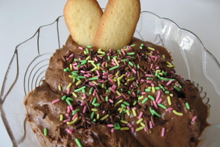 Mousse généreuse au chocolat