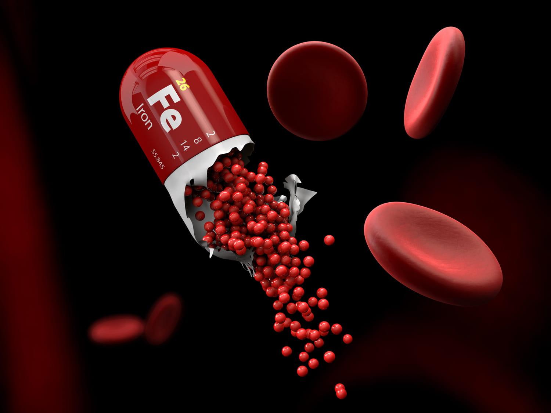 Fer: rôle, carence, dosage dans le sang, aliments, cure