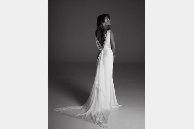 Robe de mariée Louise, de dos