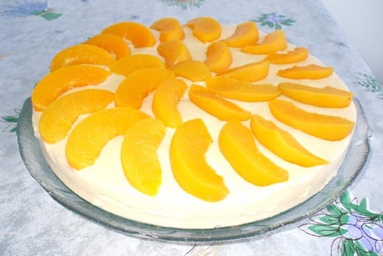 Gâteau aux fruits au sirop