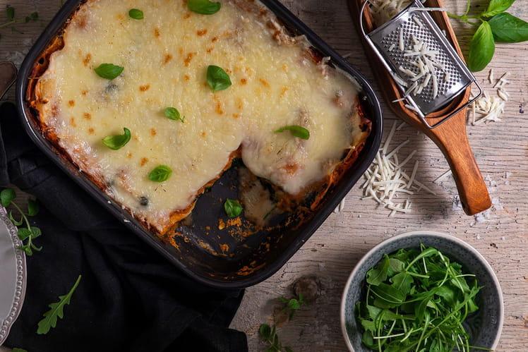 Lasagnes vegan au Violife