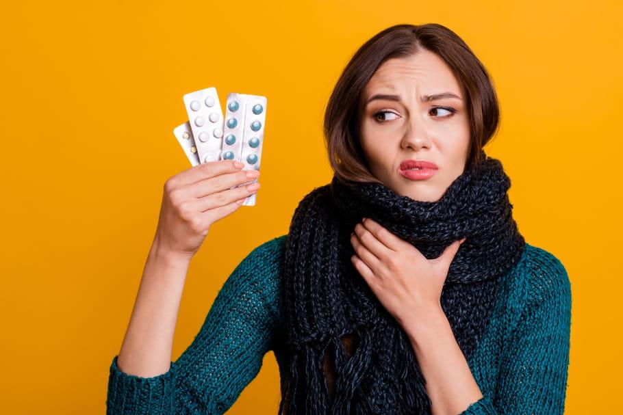 Mise en garde sur les effets graves des médicaments pour le rhume
