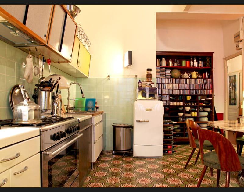 Une cuisine années 1950!