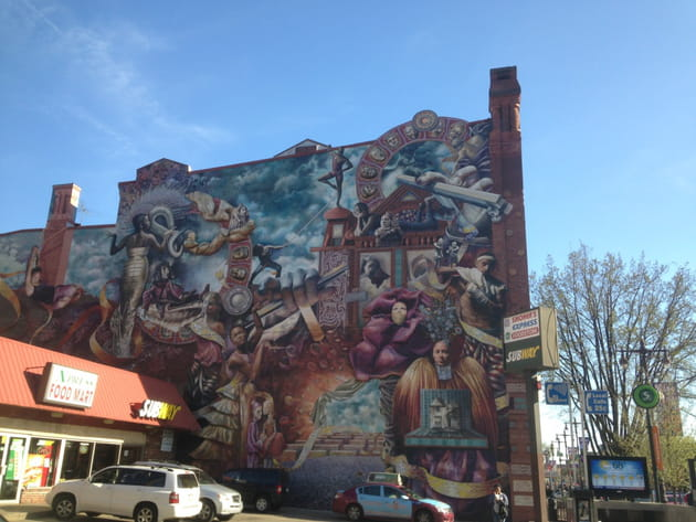 Mural 3 : The Theater of Life par Meg Saligman
