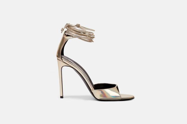 Sandales holographiques de Stella McCartney