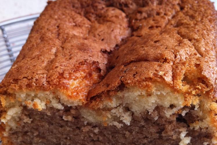 Gâteau au yaourt marbré moelleux