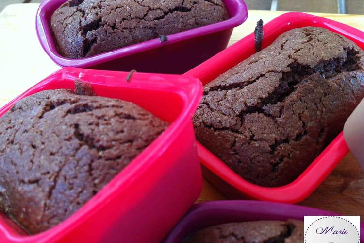 Moelleux au chocolat en mini-cakes