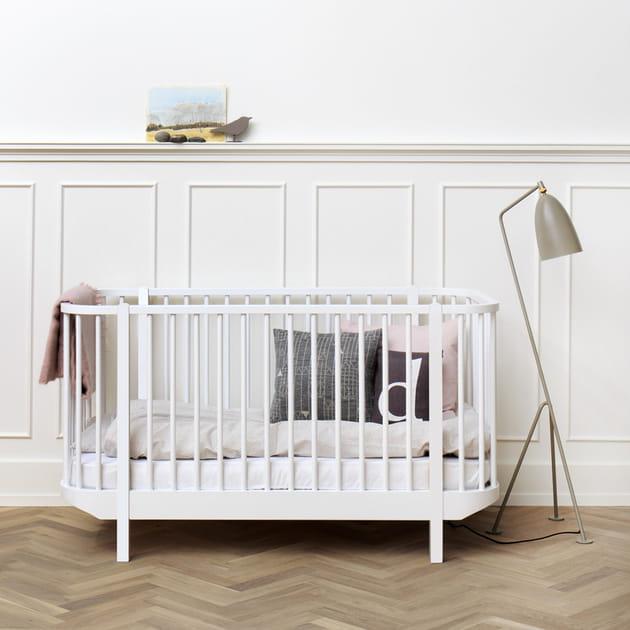 Lit bébé Wood par Olivier Furniture