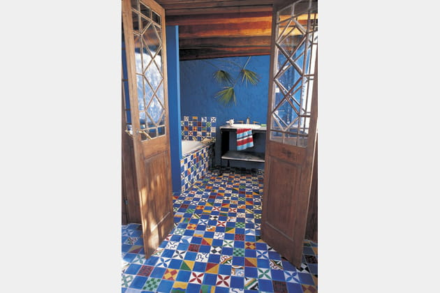 Carrelage Villa des parfums de Carocim