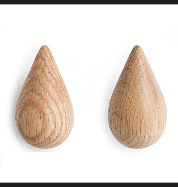 Patères en bois de The Tops