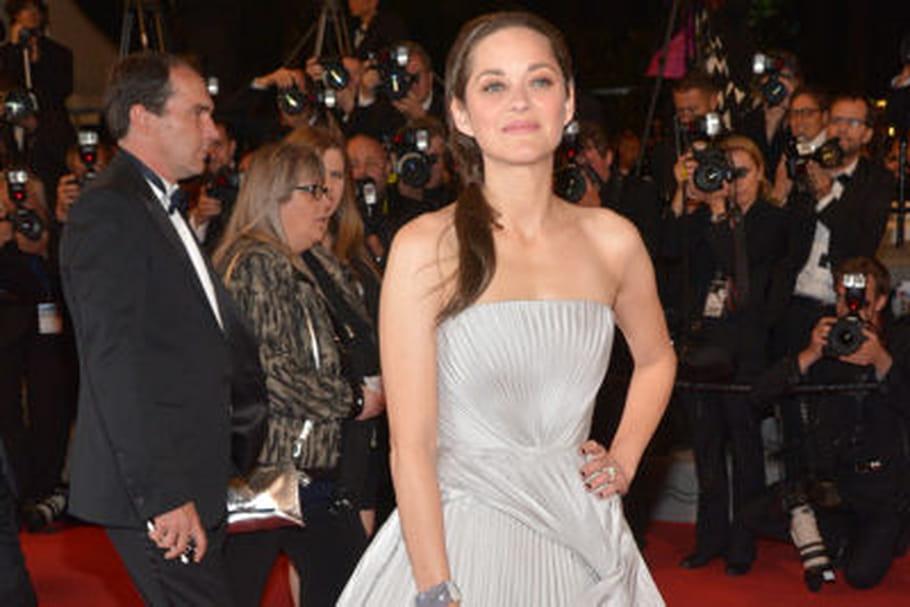 Le look people du jour spécial Cannes 2014: Marion Cotillard, divine