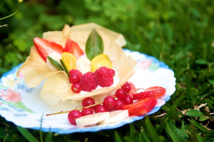 Tartelette légère aux fruits