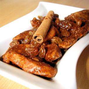 poulet à la cannelle