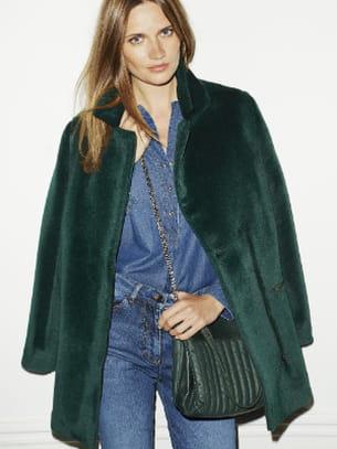 Manteau vert de Caroll © SdP Caroll d0aa41a3b23