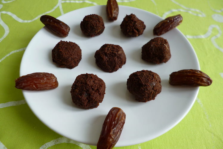 Boules crues cacao dattes baobab chia agave