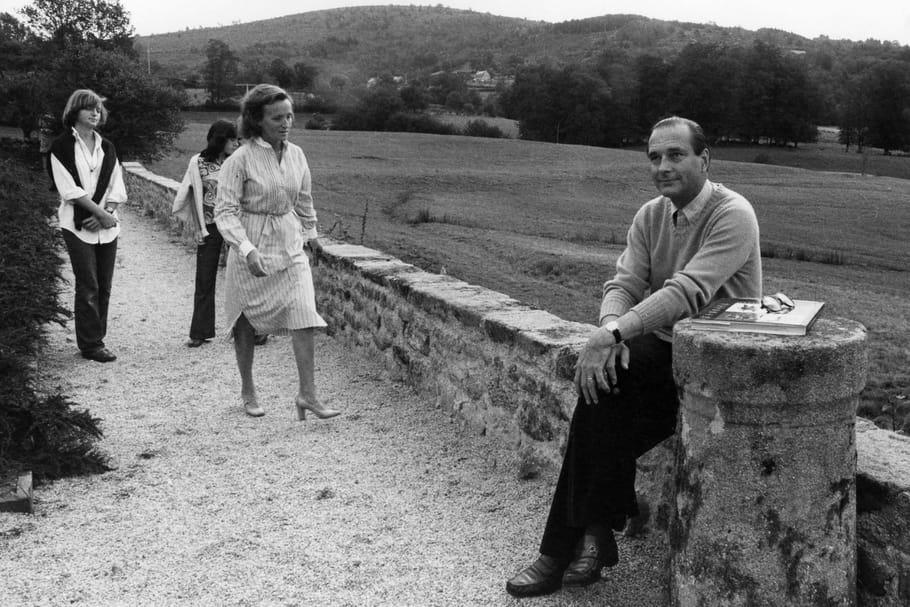 Jacques Chirac et ses filles: ses batailles et les drames de sa vie