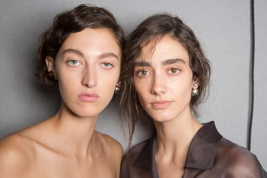 Le maquillage nude sauvage du défilé Dior