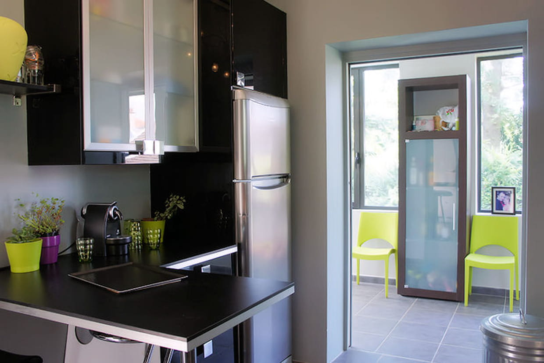 Une cuisine ouverte for Maison cuisine ouverte