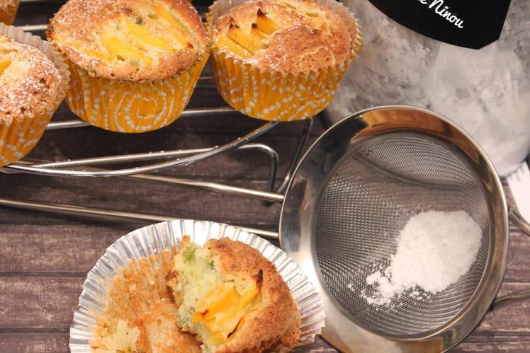 Muffins mangue et pistache