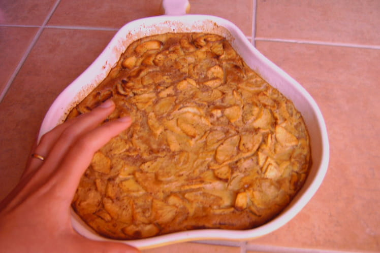 Clafoutis pomme-cannelle