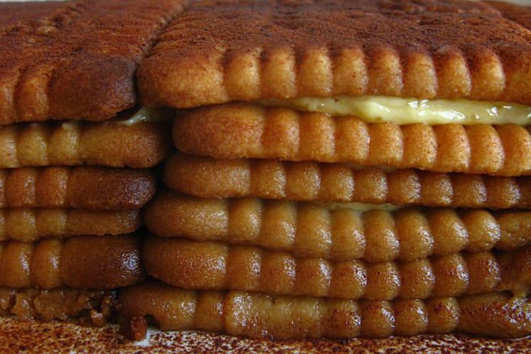 Gâteau aux biscuits Thé