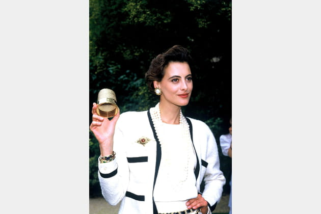 Inès de la Fressange le 29juillet 1986
