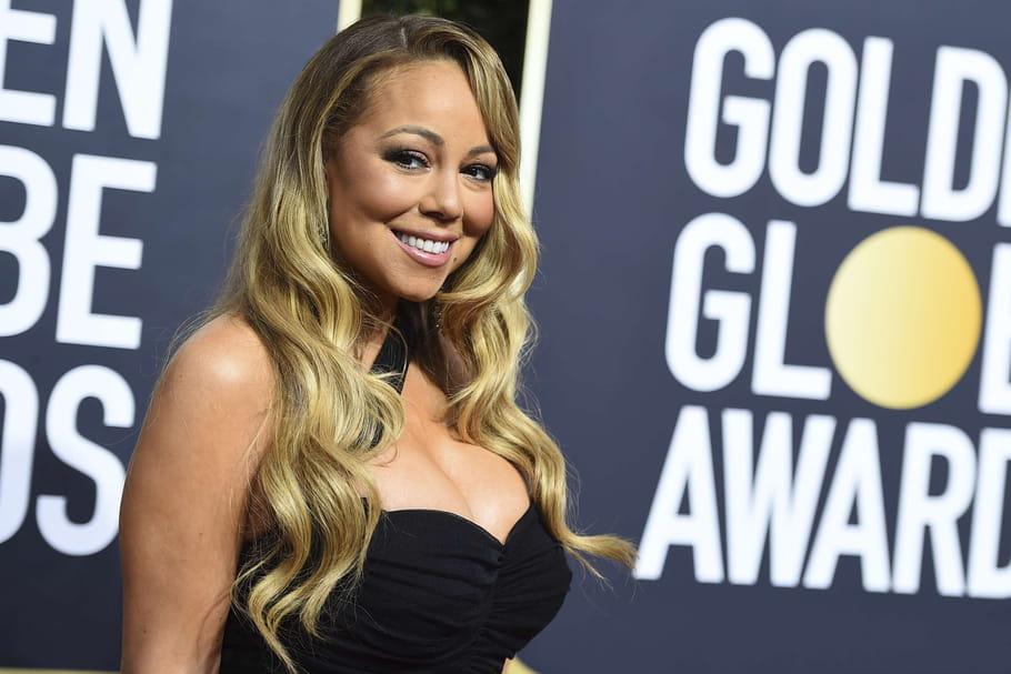 Mariah Carey, plus mince que jamais aux Golden Globes 2018